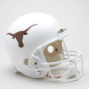 Texas Longhorns Full Size Replica Riddell Helmet